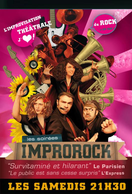 Improrock : de l'impro, de l'humour et du rock !